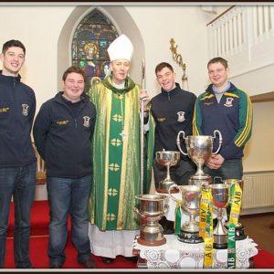 Bishop Denis visits Two Mile House Parish 23rd February 2014