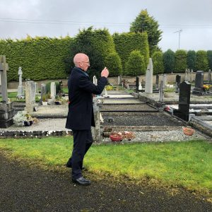 Two Mile House Cemetery Blessing 2020